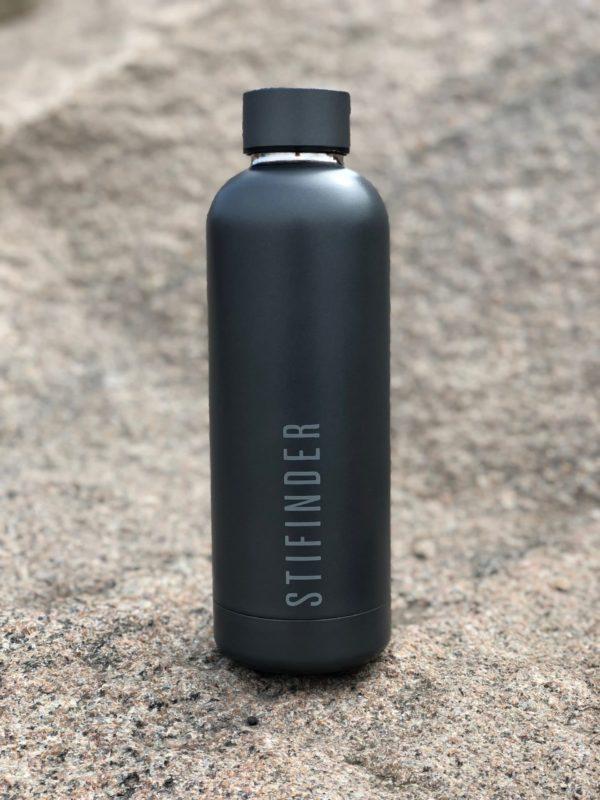 Stifinder Termoflaske - Darkgrey
