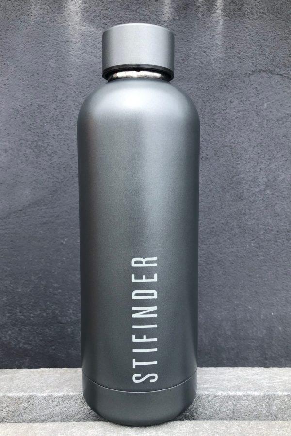 Stifinder Termoflaske - Grey