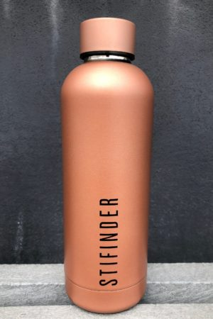 Stifinder Thermo Bottle-Rose Gold
